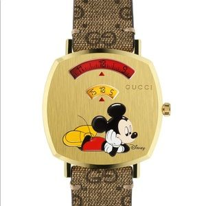 Women's Mickey Mouse Gucci Watch
